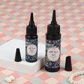 1 бутылка клея для УФ-смолы 25 г или 50 г, прозрачная эпоксидная смола для УФ-отверждения «сделай сам», ручной УФ-отверждаемый бестеневой клей