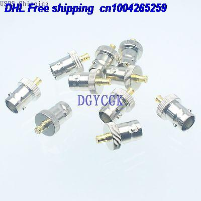 DHL 200pcs Conversion Adapter BNC female F to MCX male M connector for antenna connector 22-ct