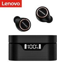 لينوفو LivePods LP12 سماعات مع هيئة التصنيع العسكري إلغاء الضوضاء/IPX5 مقاوم للماء/400mAh في الأذن سماعات لاسلكية حقيقية BT 5.0 سماعات
