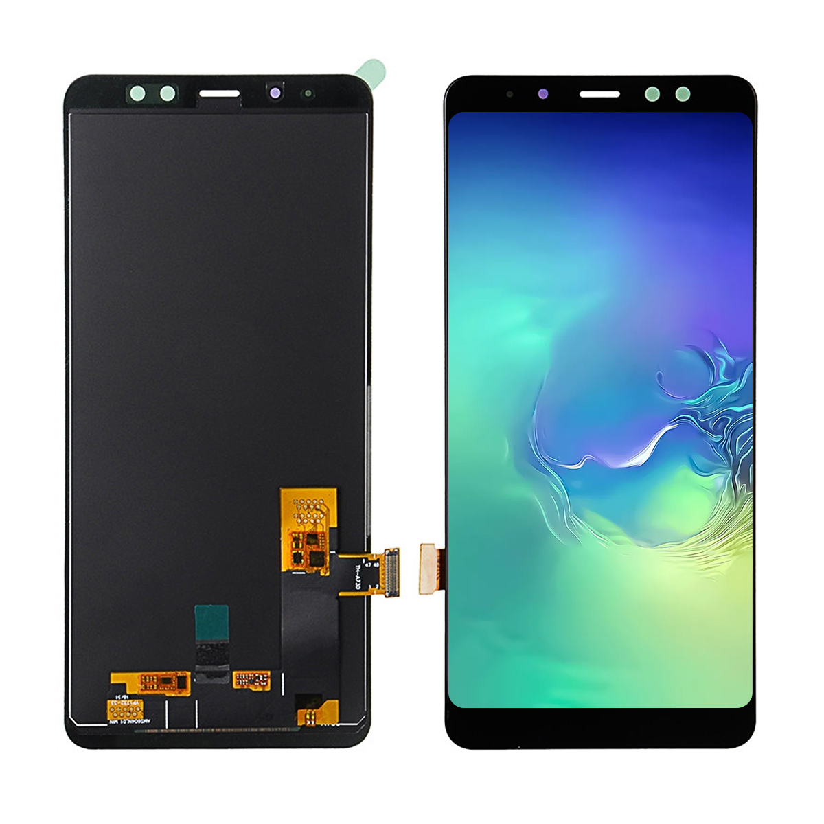Catteny Replacement 6.0Inch <font><b>A8</b></font> Plus <font><b>LCD</b></font> For <font><b>Samsung</b></font> <font><b>Galaxy</b></font> A730 <font><b>LCD</b></font> A8Plus <font><b>A8</b></font>+ 2018 Duos <font><b>Display</b></font> <font><b>Touch</b></font> <font><b>Screen</b></font> Digitizer Assembly image