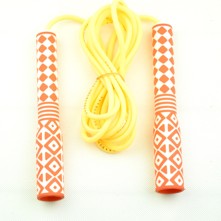 Soft Silcone Jump Rope Men And Women Adult Fitness Sports Children Young STUDENT'S Tiaoshen The Academic Test For The Junior Hig