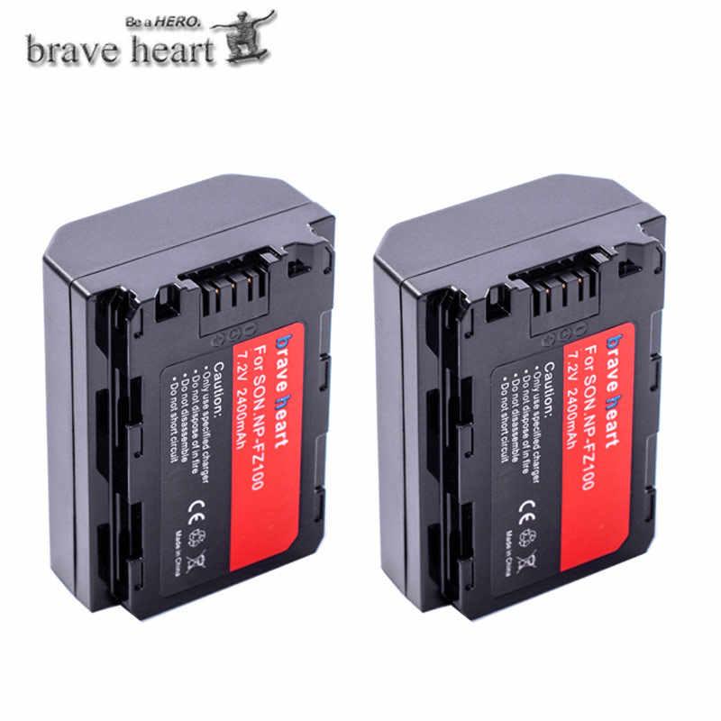 Bateria de baterie NP-FZ100 npfz100 np fz100 np fz100 para sony NP-FZ100, BC-QZ1, sony a9, a7r iii, a7 iii, ILCE-9