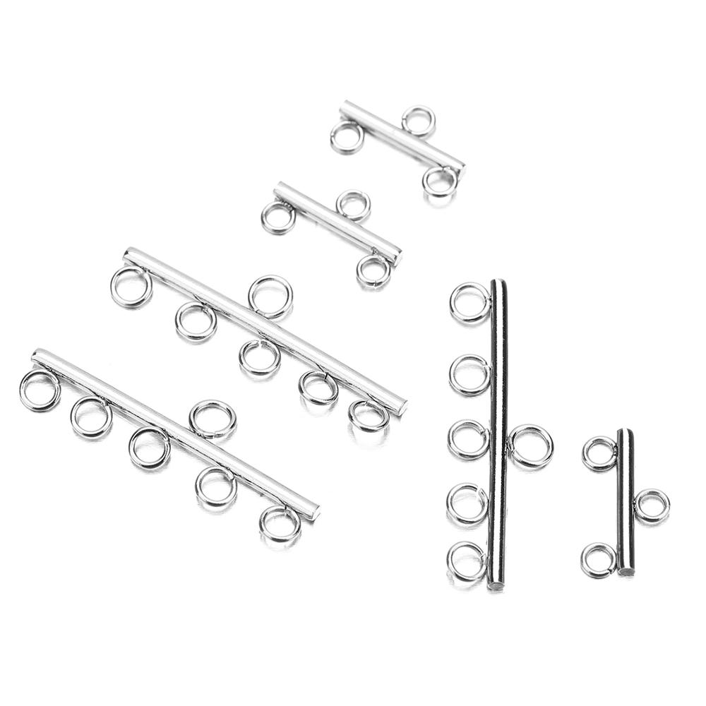 1 Pack Stainless Steel OT Clasps Connectors For Bracelet Necklace DIY Connector Charm  Jewelry Findings Making Accessories