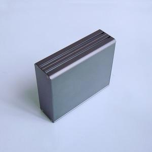Image 2 - KYYSLB 122*45 مللي متر جميع سبائك الألومنيوم مكبر للصوت الهيكل لوحة دوائر كهربائية مربع قذيفة معدنية أداة الإسكان الطاقة تحكم الهيكل