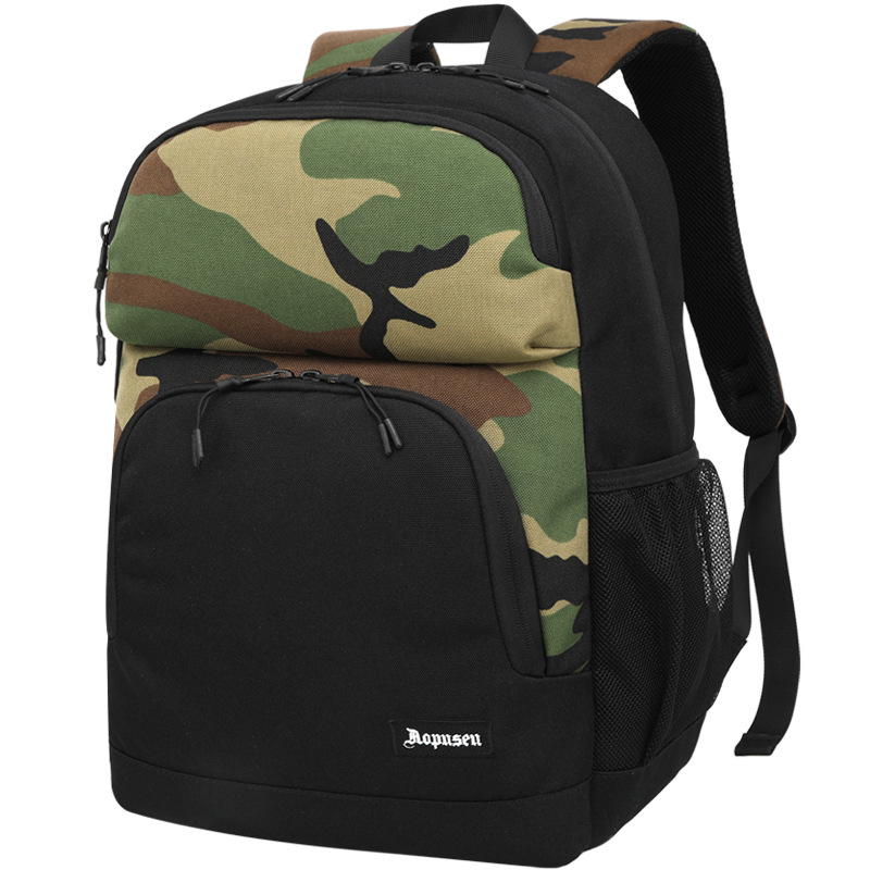Aopusen Backpack Primary School Bag Casual Women's Backpack Men's Large Capacity Trend A Generation Of Fat