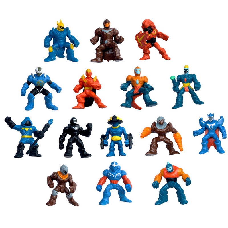 15pcs/set 6cm PVC Model Gormiti Anime Figure Toys For Children