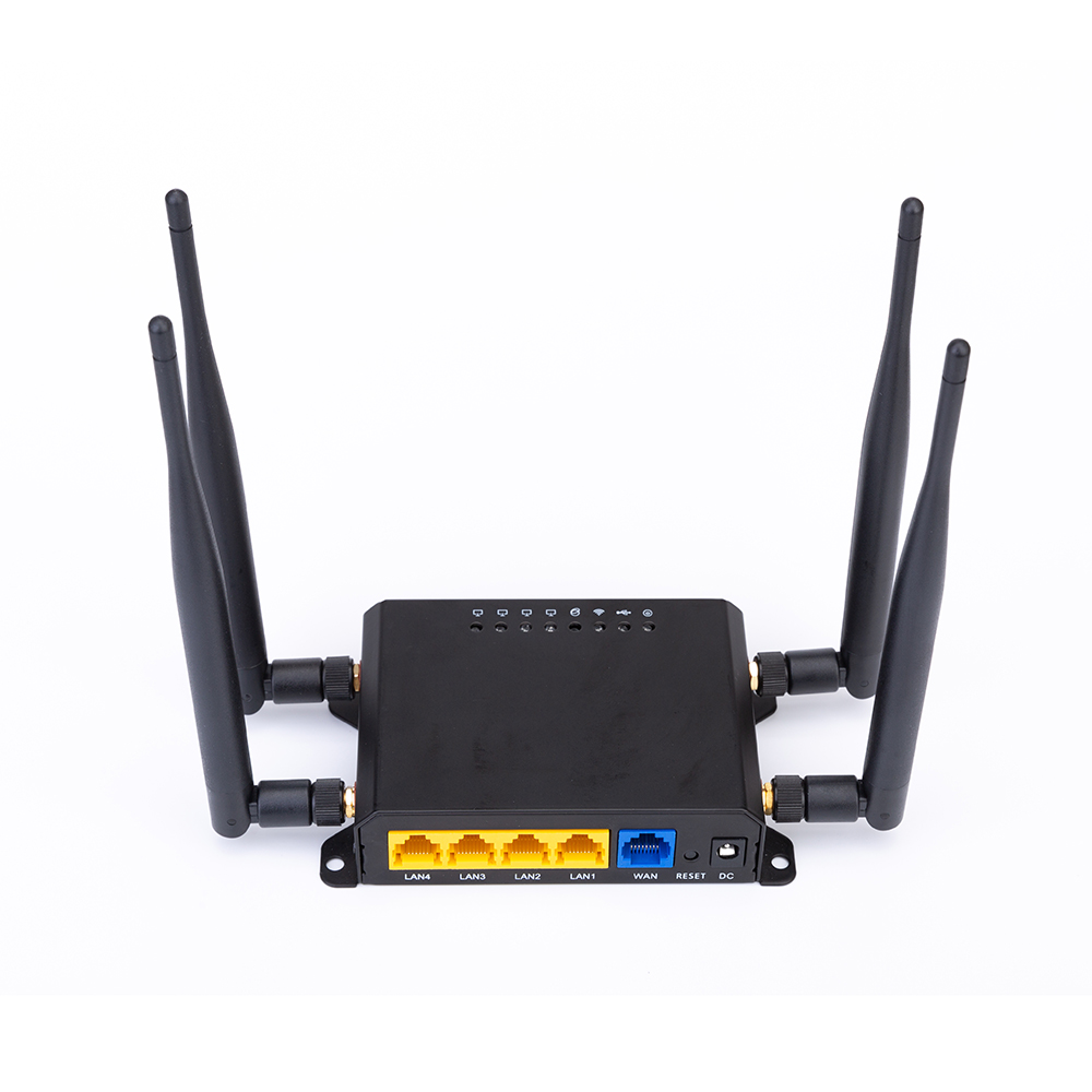 New Tenda AC11 Gigabit Dual-Band AC1200 Wireless Router Wifi Repeater With 4*6dBi High Gain Antennas Wider Coverage, Easy Setup