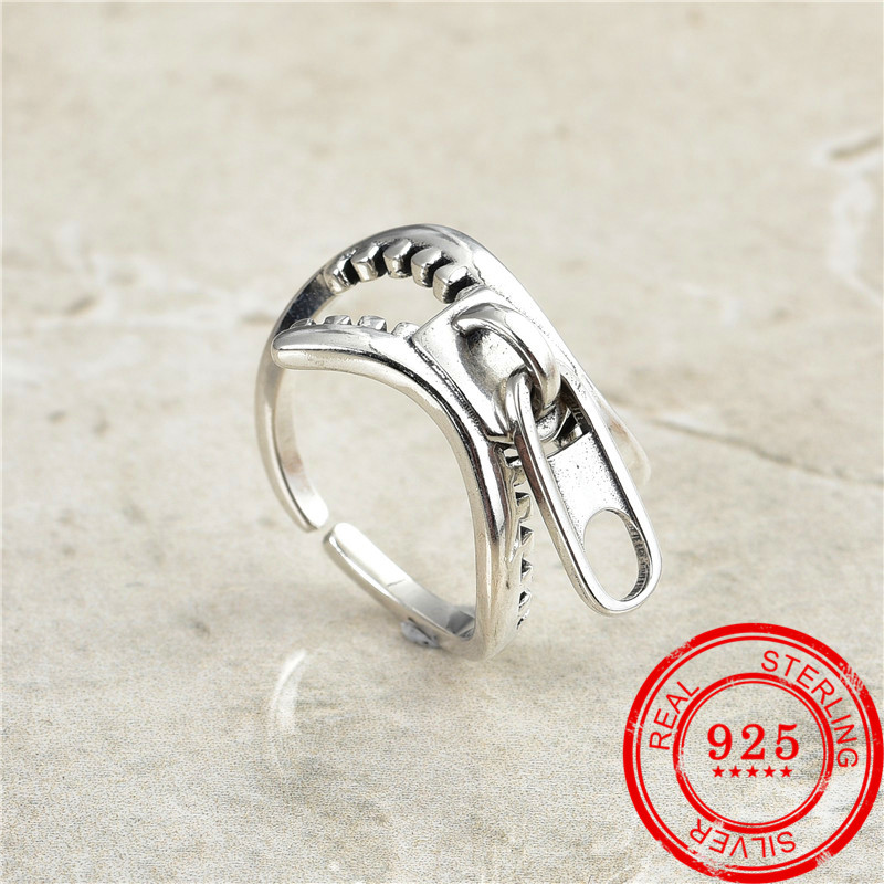 Korean version best-selling new 925 sterling silver ring retro Thai silver ring female exquisite jewelry gift fashion jewelry