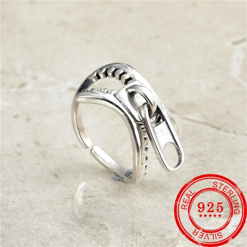 Koreańska wersja najlepiej sprzedający się nowy 925 srebrny pierścień retro tajski srebrny pierścień kobiet wykwintna biżuteria prezent biżuteria