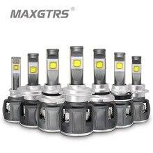MAXGTRS X70 H7 H4 Led Headlight Bulbs H11 H8 Car Led Lamps H1 9005 HB3 9006 HB4 D4S D2S D1S D3S 12000LM Headlamp Fog Light 6000K