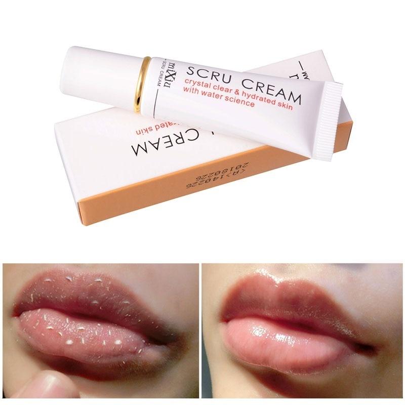 Lip Mask Removes Dead Skin and Fades Lip Lines Horny Lip Care Gel Lip Moisturizing Whitening Brightening Cream Care Scrub