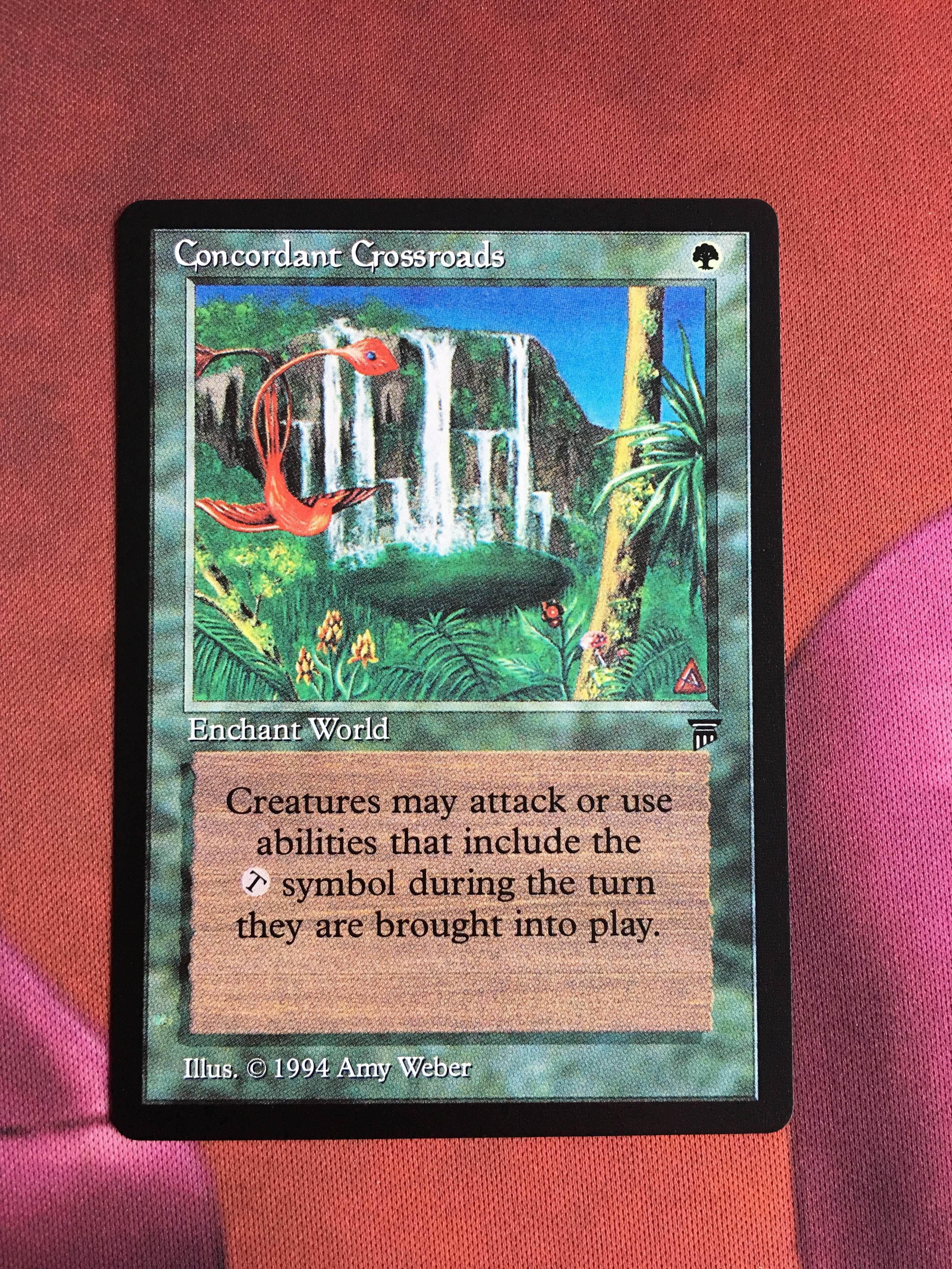 Concordant Crossroads Legends Magician ProxyKing 8.0 VIP The Proxy Mtg Proxy Cards To Gathering Every Single Mg Card.