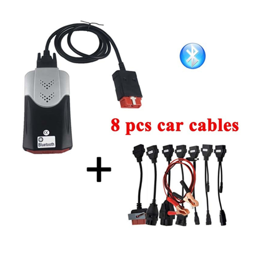 2019 New 201503/2016R0 Adapter For <font><b>vd</b></font> tcs cdp Pro Cars Diagnostic Interface Tool for delphis <font><b>VD</b></font> <font><b>ds150e</b></font> CDP Full set8 Car Cables image