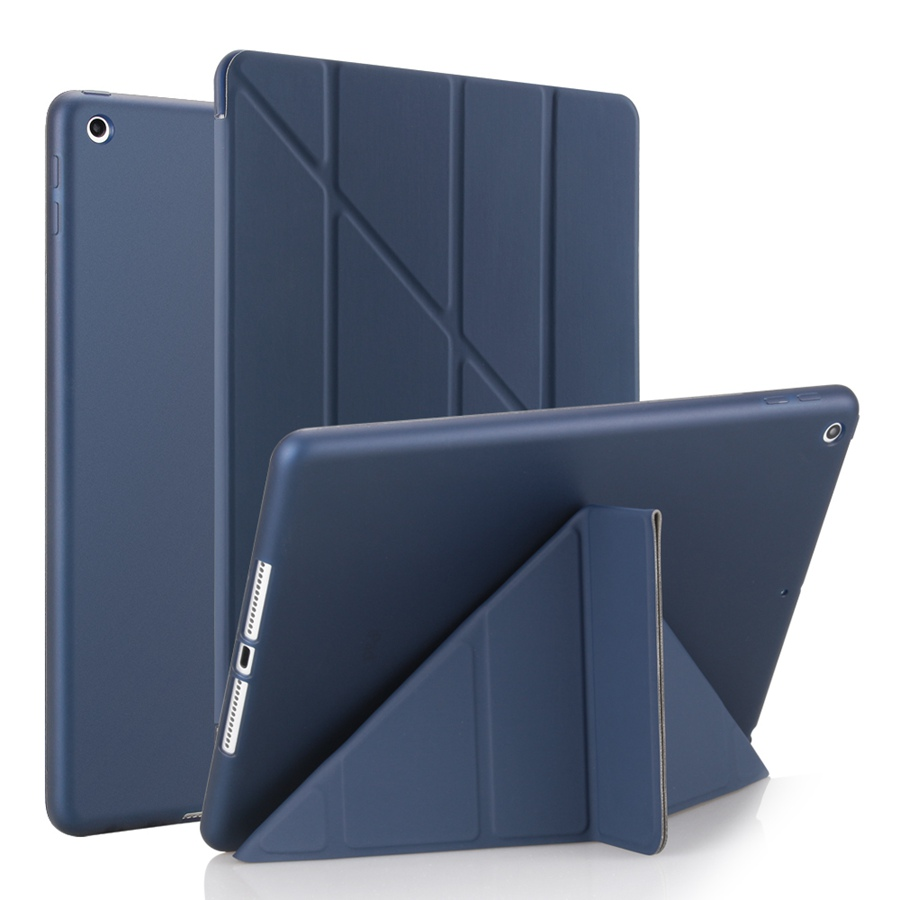 Soft-Silicon Apple Case 7-7th/A2200/A2198/A2232 iPad for Smart-Stand-Cover