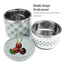 Portable Stainless Steel Thermal Lunch Box