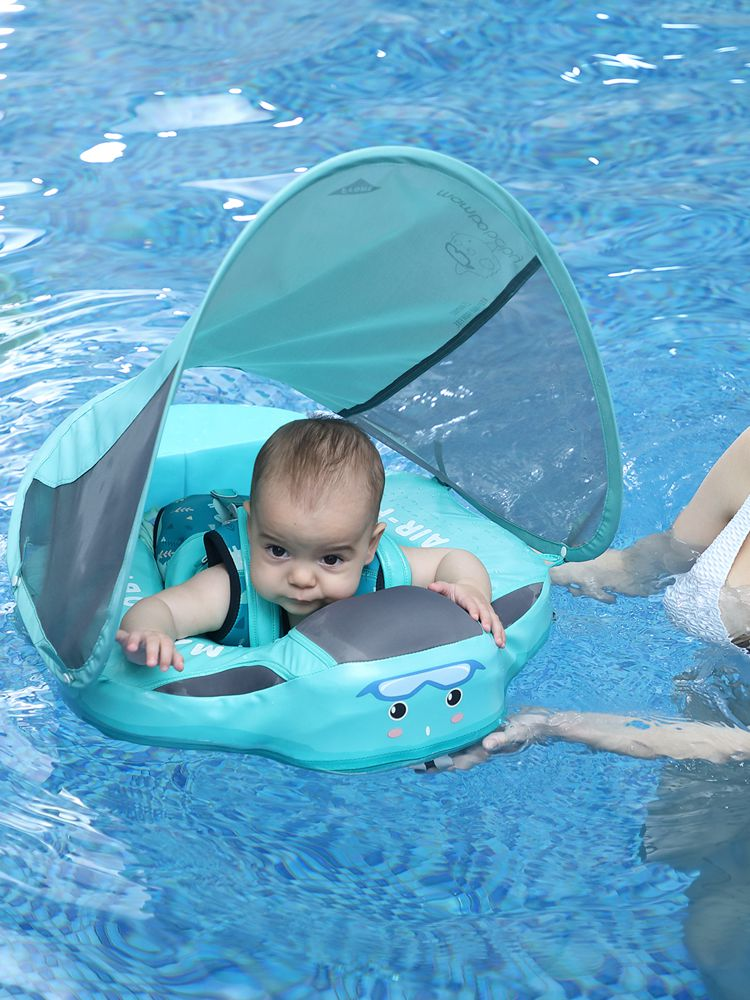 Pool-Toys Swimmers Waist-Float Non-Inflatable Mambobaby Infant for Lying Solid
