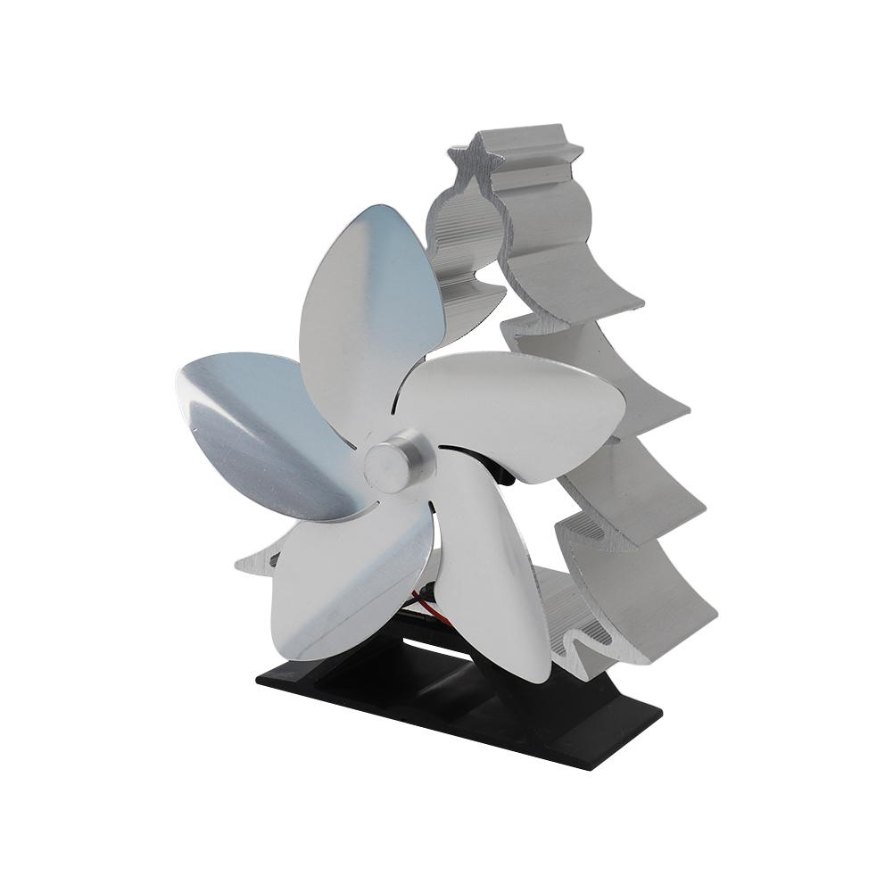 2020  Newest  High Temperature Heat Fireplace Fan No Electricity Smart Energy Saving Heat Powered Stove Fan Home Suppiles