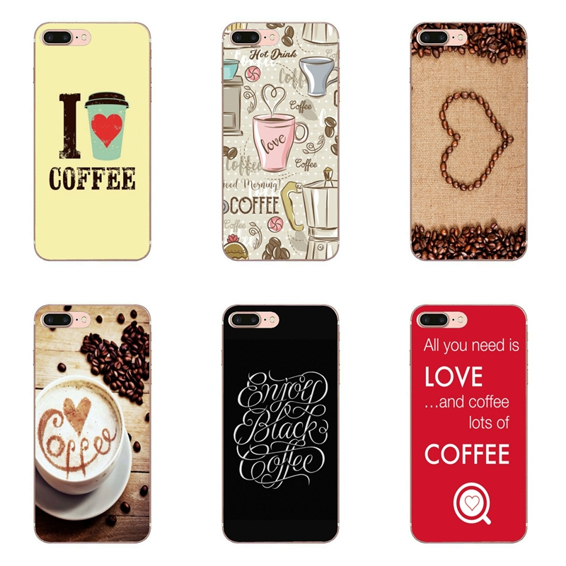 Love Letter Word Coffee cover case For Samsung Galaxy S10E S10 Lite S9 S8  S7 S6 edge Plus Note 10 9 8 5 4 S5 S4 S3 mini|Half-wrapped Cases| -  AliExpress