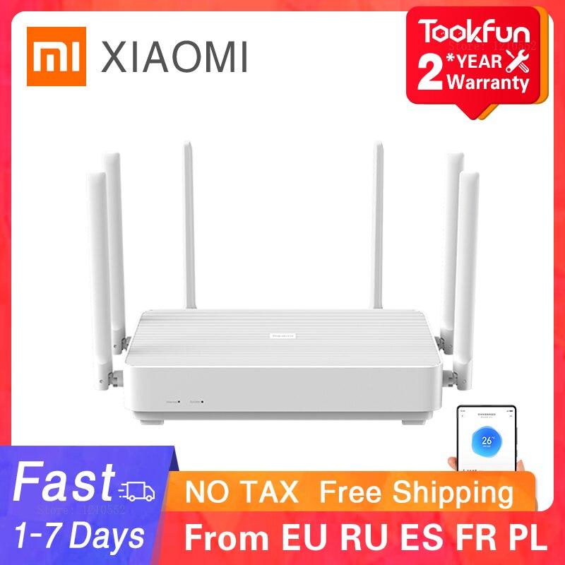 Новый 2020 Xiaomi Redmi AX6 беспроводной маршрутизатор 2976 Мбит/с сеткой Wi-Fi 6 2,4G/5G двухчастотный 512MB OFDMA 6 антенны Wi Fi ретранслятор PPPOE