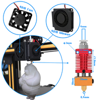Ekstruder sıcak sonu kitleri ile meme aksesuarları için yedek parçalar 3D yazıcı NC99 3D Yazıcı Parçaları ve Aksesuarları Bilgisayar ve Ofis -