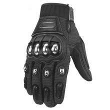 Motorcycle-Gloves Ergonomic 1pair-Accessories Touch-Screen Sports Full-Finger Fashion