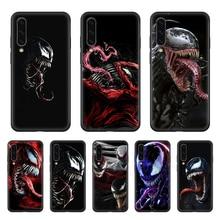 Чехол для телефона Marvel Venom, корпус корпуса для SamSung Galaxy A, 3, 5, 7, 10, 20, 30, 40, 50, 51, 70, 71, e, s plus, черный, prime painting, водонепроницаемый