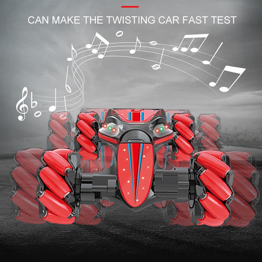 Afstandsbediening Stunt Auto Tool Gebaar Inductie Draaien Off Road Voertuig Licht Muziek Drift Rijden Speelgoed Cadeau voor Kinderen - 4