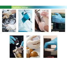 BNL Ammex Disposable Gloves Latex Household Gloves Dentist Cosmetic Surgery Laboratory Inspection Gloves