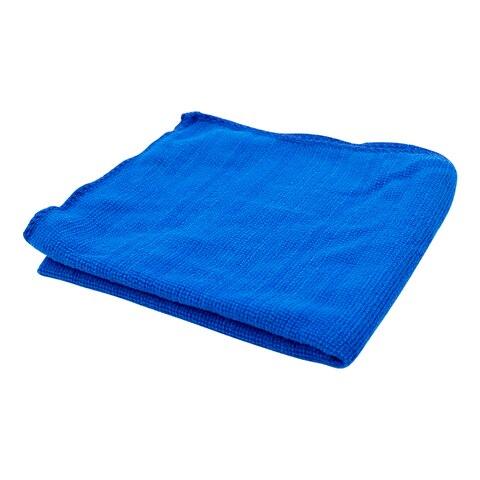 5 pcs azul 30x70cm microfibra panos de
