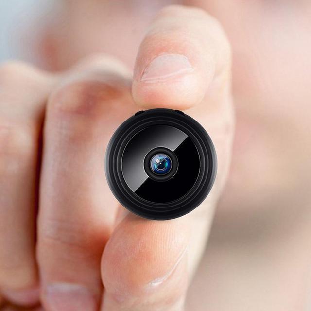 Mini cam ra WIFI 1080P HD sans fil S curit domicile d tection de mouvement de