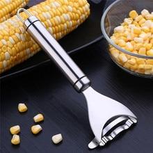 1 шт. кухня Кукуруза Cob зачистки нож очиститель от кожуры молотилка прибор для чистки кукурузы нержавеющая сталь премиум класса инструмент прочные Кухонные гаджеты
