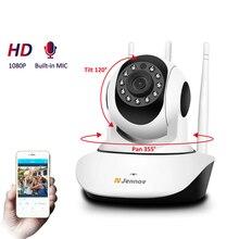 كاميرا HD 1080P 2MP لأمن الوطن IP كاميرا مراقبة فيديو صغيرة PTZ لاسلكية كاميرا واي فاي كامارا Pet CCTV IR مراقبة الطفل مجموعة الصوت