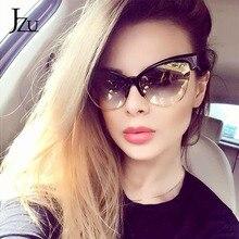 JZU 2020 New Brand Designer Cateye Sunglasses Women cat eye sunglasses