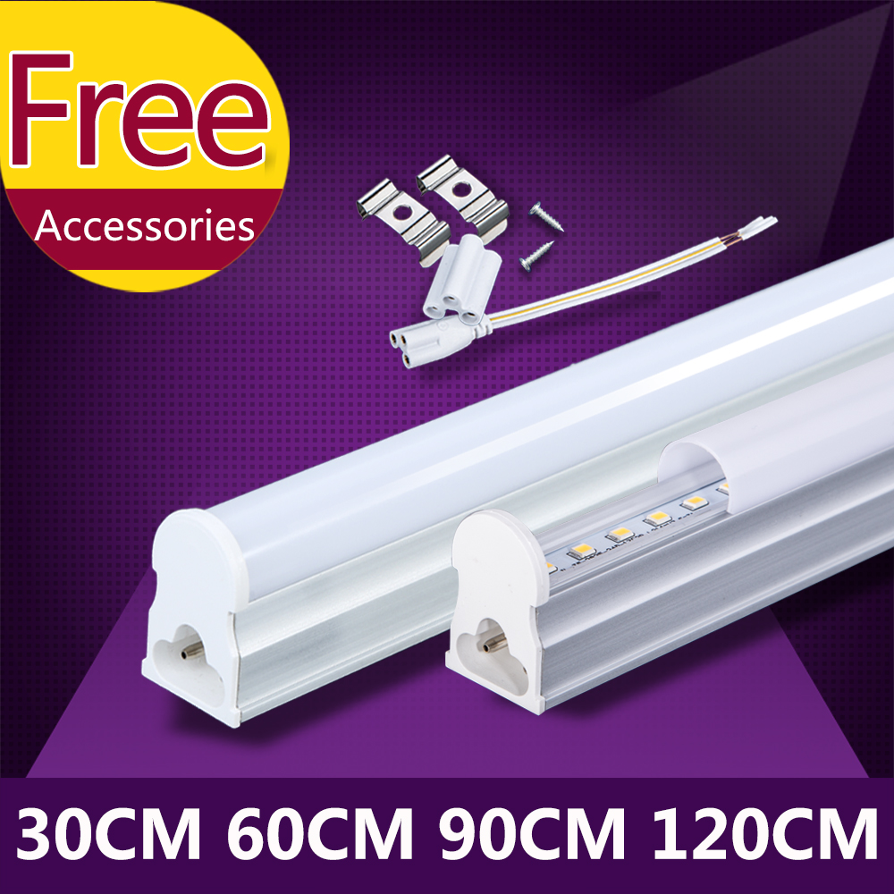 T5 Led Tube Light 220V Lamp Bulb 120cm 1200mm 90cm 60cm Integrated Tube Light Lighting T5 Wall Lamp Warm Cold White Spotlight