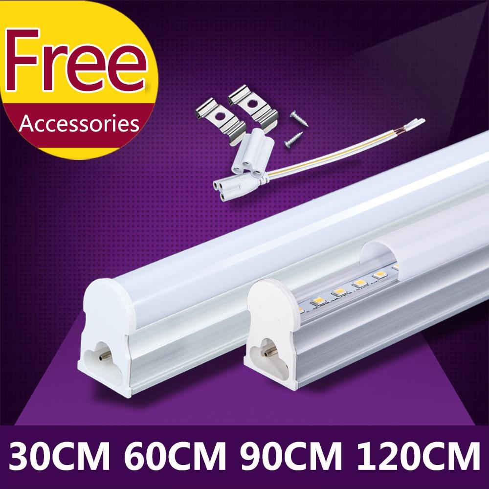 T5 Led Tube Light 220V Lamp Bulb 120cm 1200mm 90cm 60cm Integrated Tube Light Lighting T5 Wall Lamp Warm Cold White Spotlight