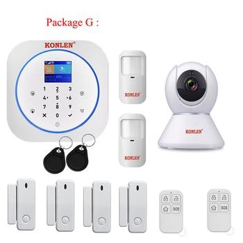 GSM Alarm Security System - Smart Life APP