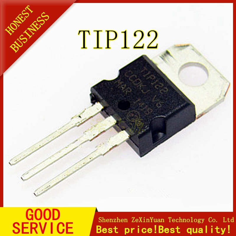 20PCS TIP122 5A 100V TO-220