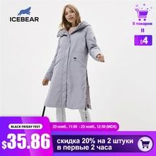 ICEbear 2020 Women spring jacket quality women coat long female parka  brand clothing GWC20066I