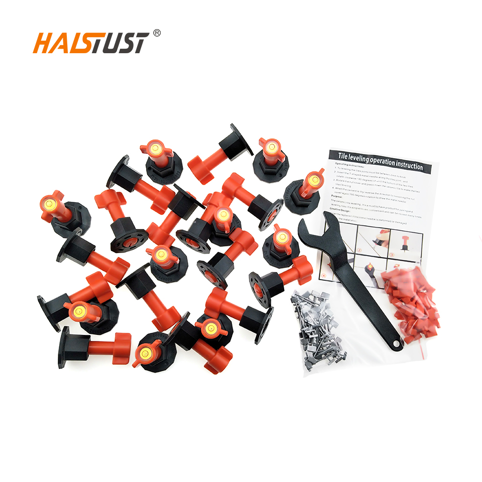 24pcs 1.5mm Tile Leveling System Reusable Ceramic Tiles Tools Floor Wall Tile Leveler Wedges Construction Tool Parts Carrelage