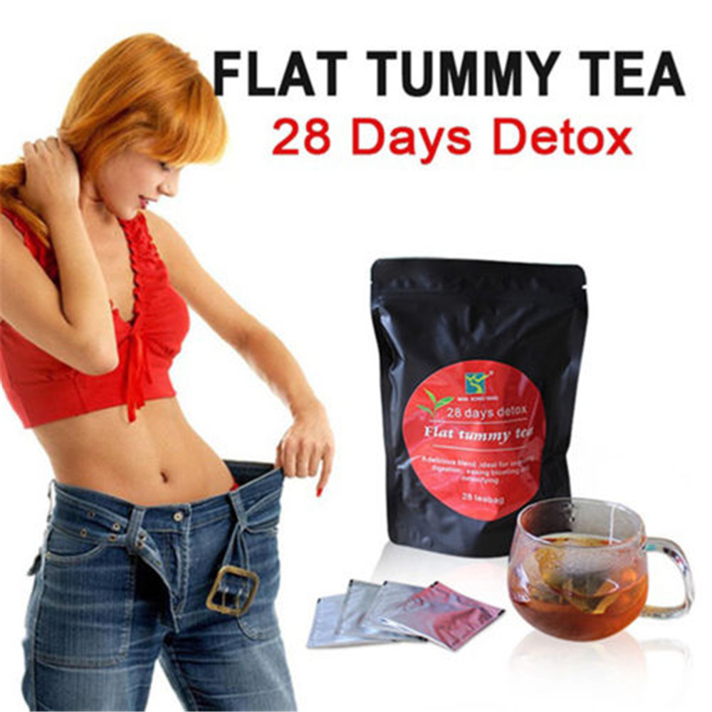 28 Days Detox Weight Loss Tea Health Diet Slimming Aid Burn Fat Thin Belly Simple Brewing Ready To Drink 2020 New Arrivals image