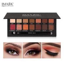 IMAGIC Eyeshadow Shimmer Matte Fashion Waterproof Long-lasting Eye Shadow Wiht Brush Palette Eyes Cosmetics