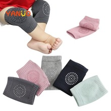1 Pair Baby Knee Pad Kids Safety Crawling Elbow Cushion Infant Toddlers Baby Leg Warmer Knee Support Protector Baby Kneecap