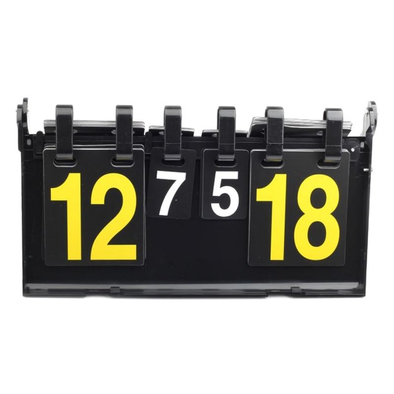 4 dígitos para placas de vôlei do