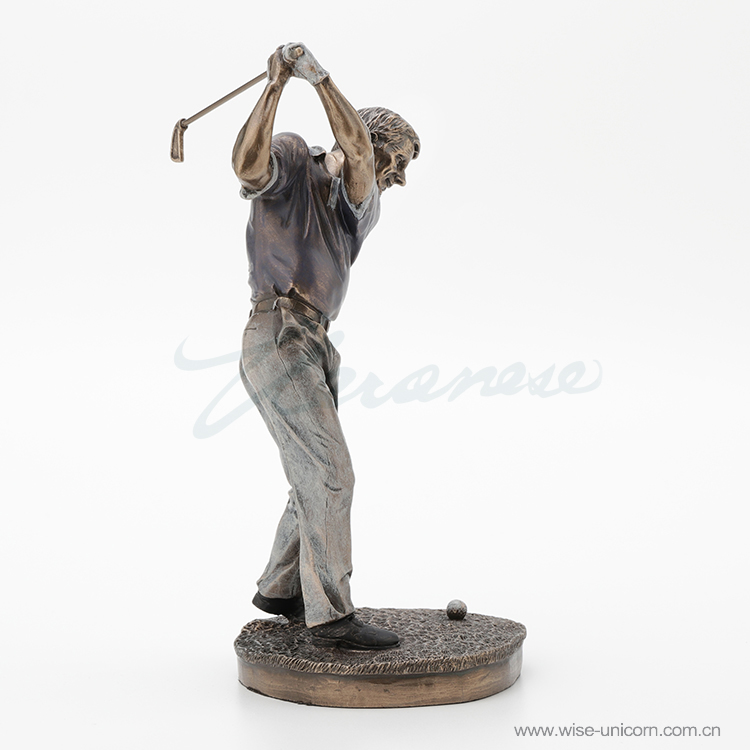 Creative golf person birthday gift craft decoration shopkeeper recommended factory direct sales|Statues & Sculptures| |  - title=