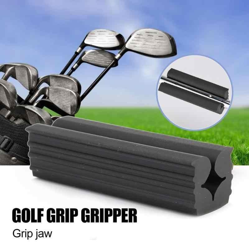 Plastik Golf Klub Praktek Grip Vice Klem Alat Pengganti Latihan Golf PREMIUM Clamp Clamp