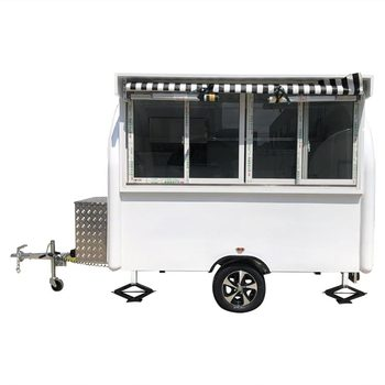 custom made food truck concession food trailer Concession Food Trailer Mobile Food Truck  White