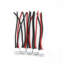 5Pcs Silicone Soft Line 100Mm Rc Drone Lipo Battery Balance Charger 2S 3S 4S 5S 6S 22Awg Cable For Lipo Battery(China)