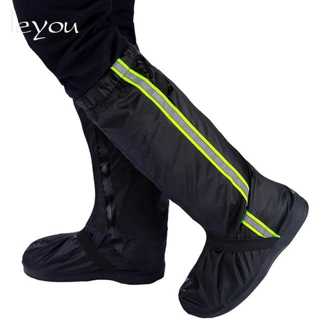 Unix Reusable Rain Cover For Shoes Rain Shoes Cover Boots Waterproof Motorcycle Rain Shoes Cover Non Slip Rainproof Boots