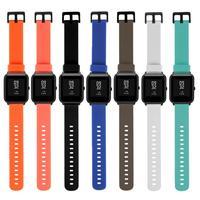 Cinturino cinturino in Silicone da 20mm per Xiaomi Huami Amazfit Bip BIT PACE Lite braccialetto sportivo accessori per orologi intelligenti