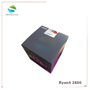 AMD Ryzen 5 2600 R5 2600 3.4 GHz Six-Core Twelve-Core 65W CPU Processor YD2600BBM6IAF with cooler cooling fan Socket AM4